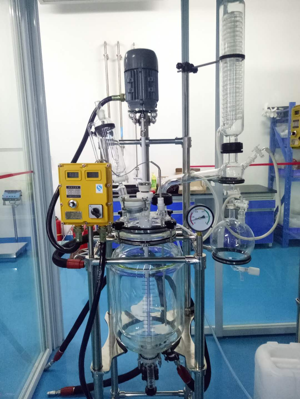 全不锈钢玻璃反应釜