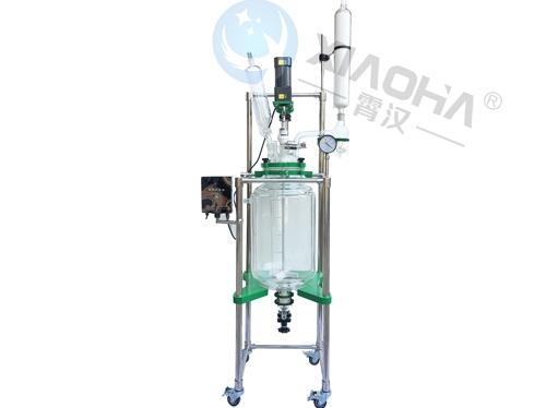 太仓新型双层玻璃反应釜