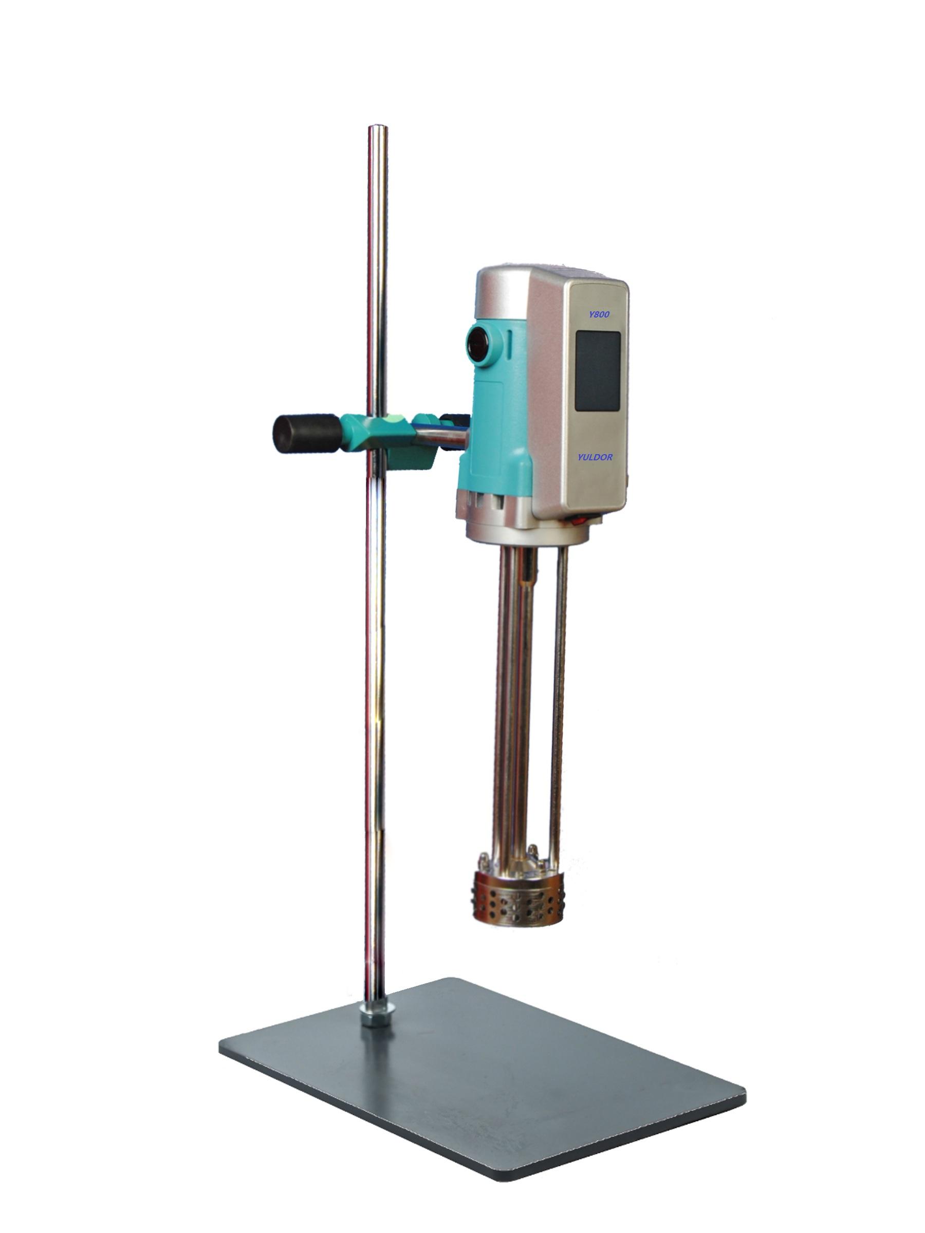 触摸板高剪切混合均质乳化机.高粘度处理实验室均质乳化机.jpeg